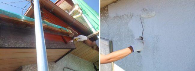 施工の流れ4日目 下塗りと中塗り