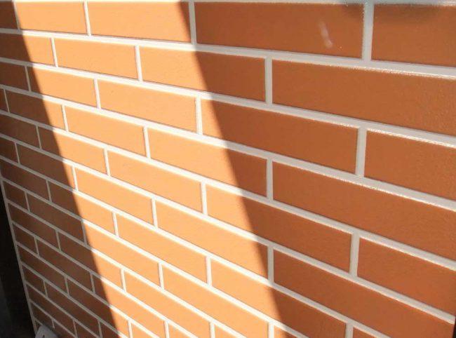 サイディング塗装の例1 塗り替え後の壁面