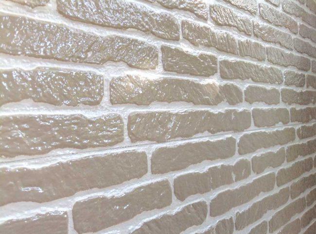 サイディング塗装の例2 塗り替え後の壁面
