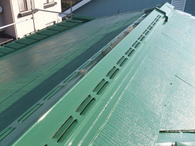 屋根 棟鉄板