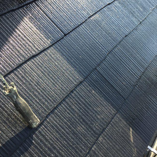 屋根 中塗り 上塗り