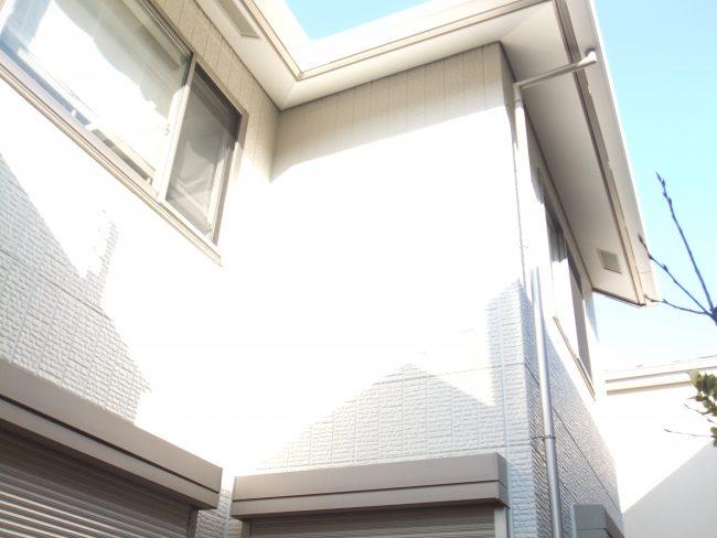 外壁 仕上がり