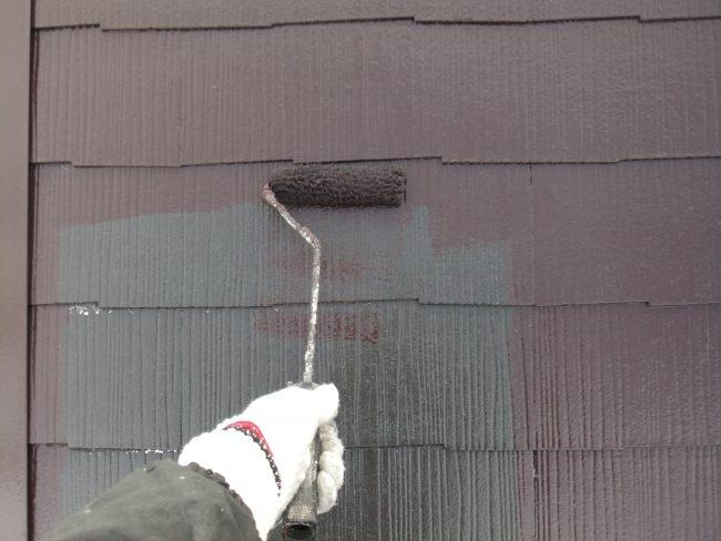 屋根 上塗り