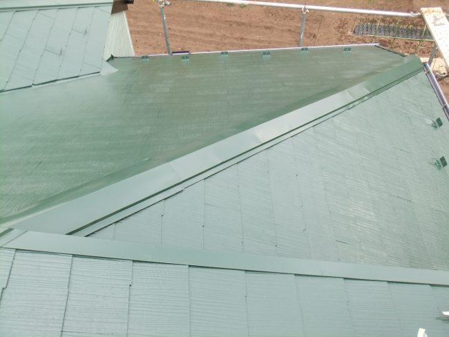 屋根 仕上がり