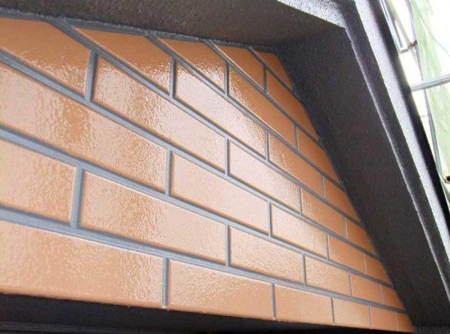 サイディング塗装の例3 塗り替え後の壁面