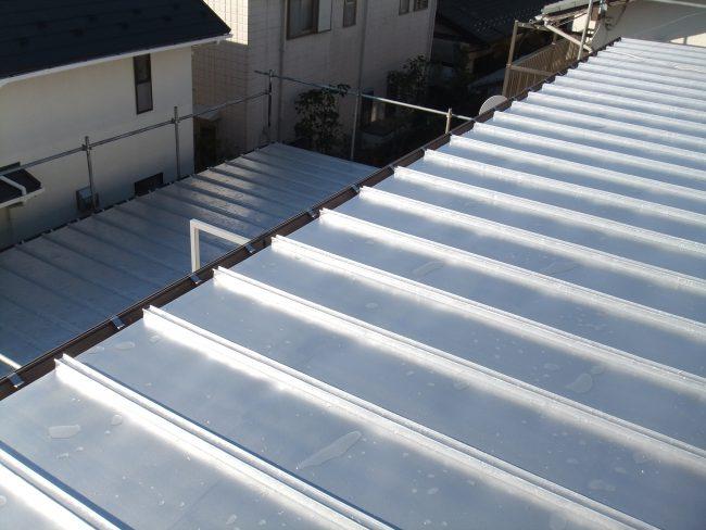 上塗り 屋根