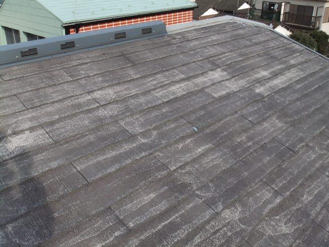 屋根 塗装前