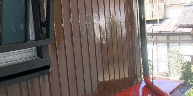トタン外壁塗り替え後